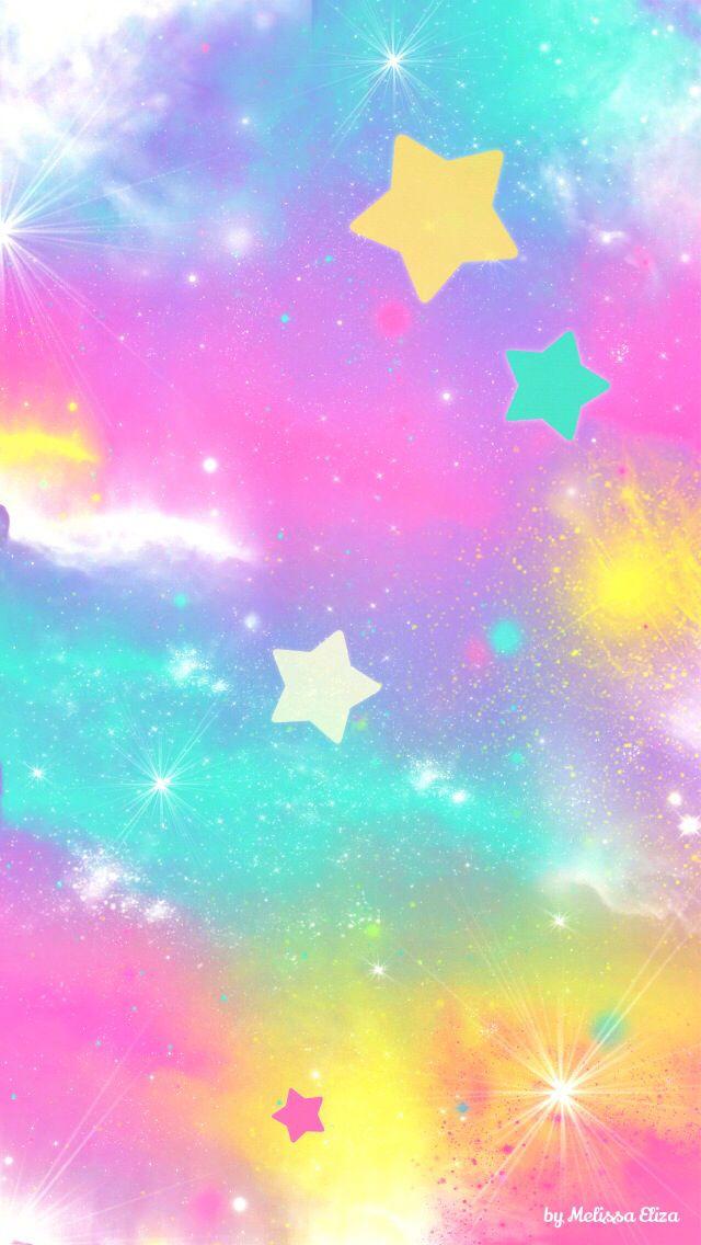 colorful stars background galaxy - photo #45