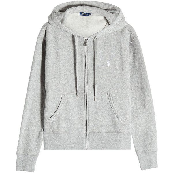 Polo Ralph Lauren Zipped Hoodie (330 ILS) ? liked on Polyvore featuring  tops,