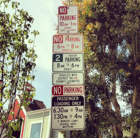 Learn The Language Of Parking Signs With Rosetta Stone Los Angeles Hollywood Los Angeles San Fernando Valley