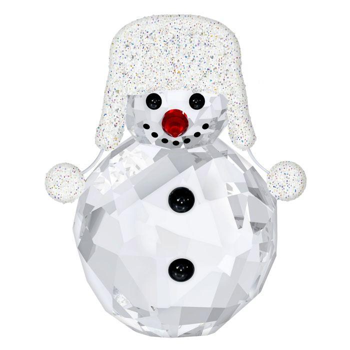 Cute silver tone Snowman Christmas charms x4