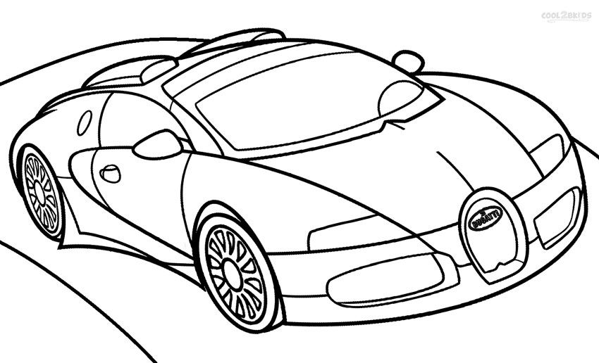 Printable Bugatti Coloring Pages For Kids Cool2bkids Kids Cars