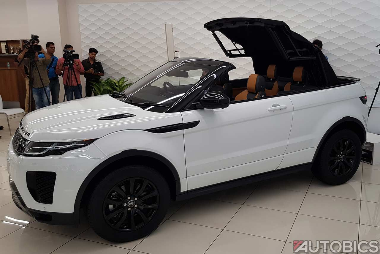 Range Rover Convertible >> Jaguar Land Rover India Has Launched The Range Rover Evoque
