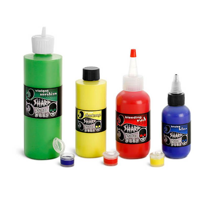 Plastic Tattoo Ink Bottles Wholesale sales@oshaka.com | 6.Spa and ...
