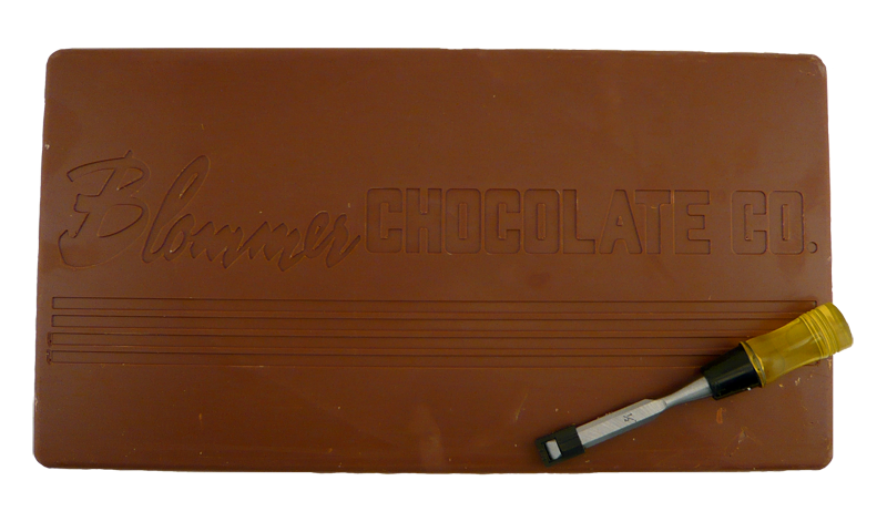 For the times when you just need a chocolate bar. one will do :)(http://www.onlythebestgifts.com/blommer-giant-10-lb-milk-chocolate-bar/)