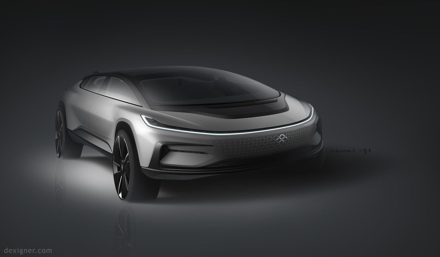 Faraday Future Unveils Ff 91 Faraday Future Electric Car Design Car