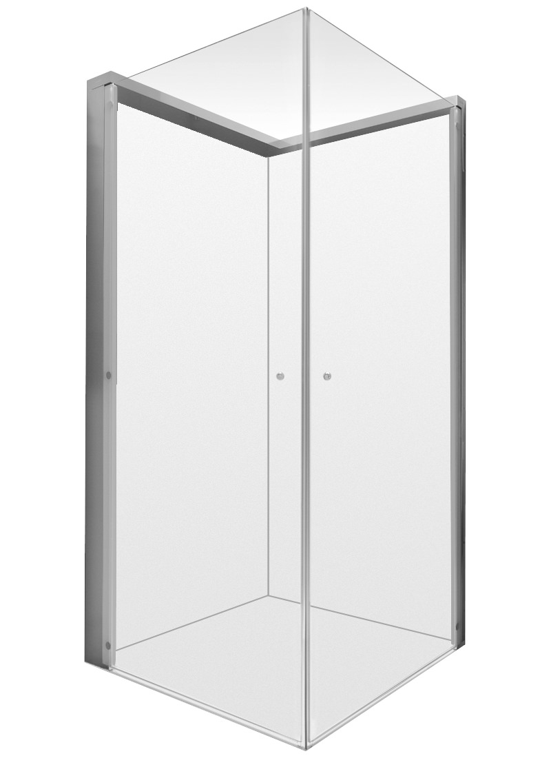 Duravit Openspace 885 X 785mm Rectangle Shower Screen For Tap On