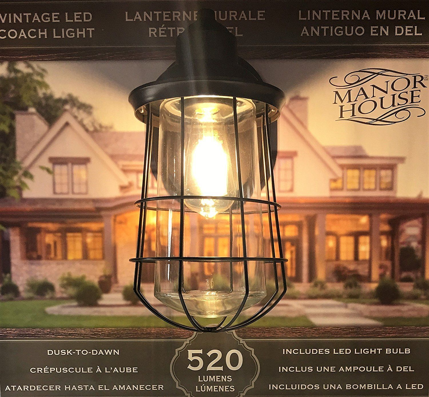 Manor House Vintage Led Coach Patio Porch Light Check This Awesome Product By Going To The Link Porch Lighting Outdoor Light Fixtures Outdoor Lighting Design