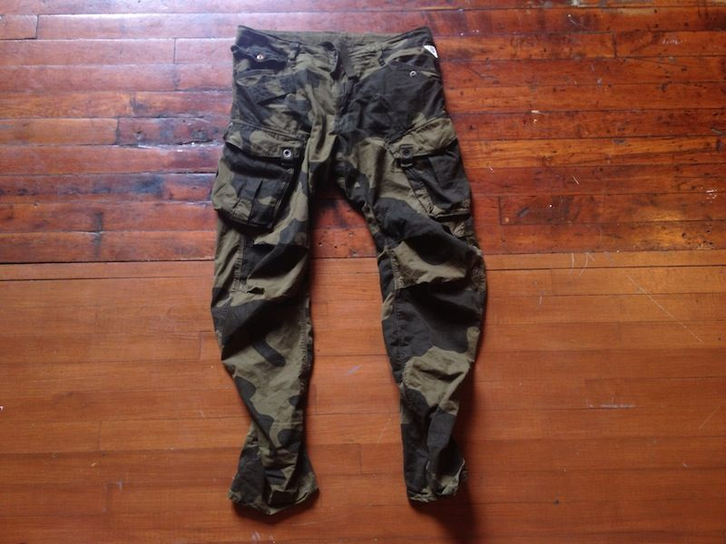 G Star Raw Camo 3D Tapered Pants 1