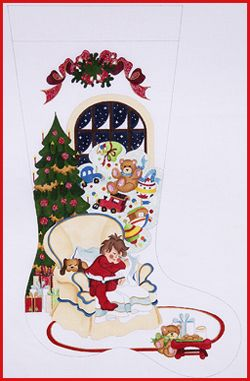 welcome to strictly christmas needlepoint designs full sized stockings - Strictly Christmas Needlepoint