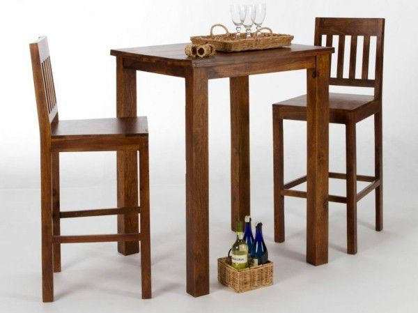 Bar table and chairs design ideas   1decornet/ Pinterest