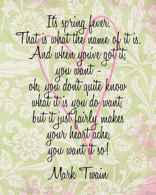 i want spring quotes