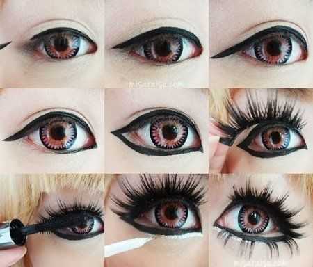 How To: Fake Big Eyes For Night Out