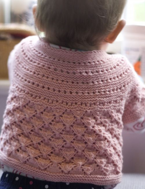 Lucille Baby Cardigan Free Pattern Projects To Try Pinterest