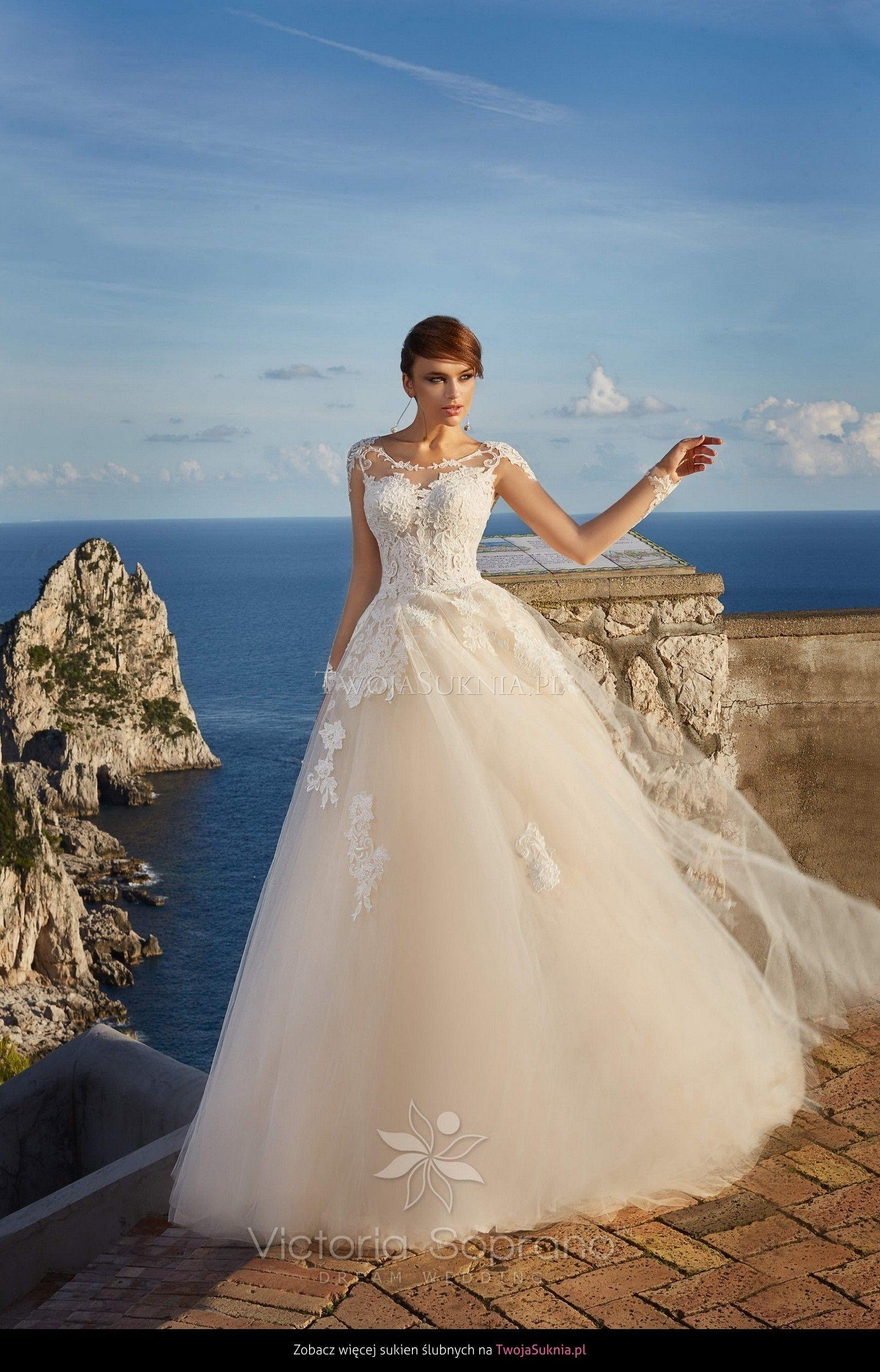 Victoria Soprano - Veronica 12618 - Capri | suknie ślubne ...