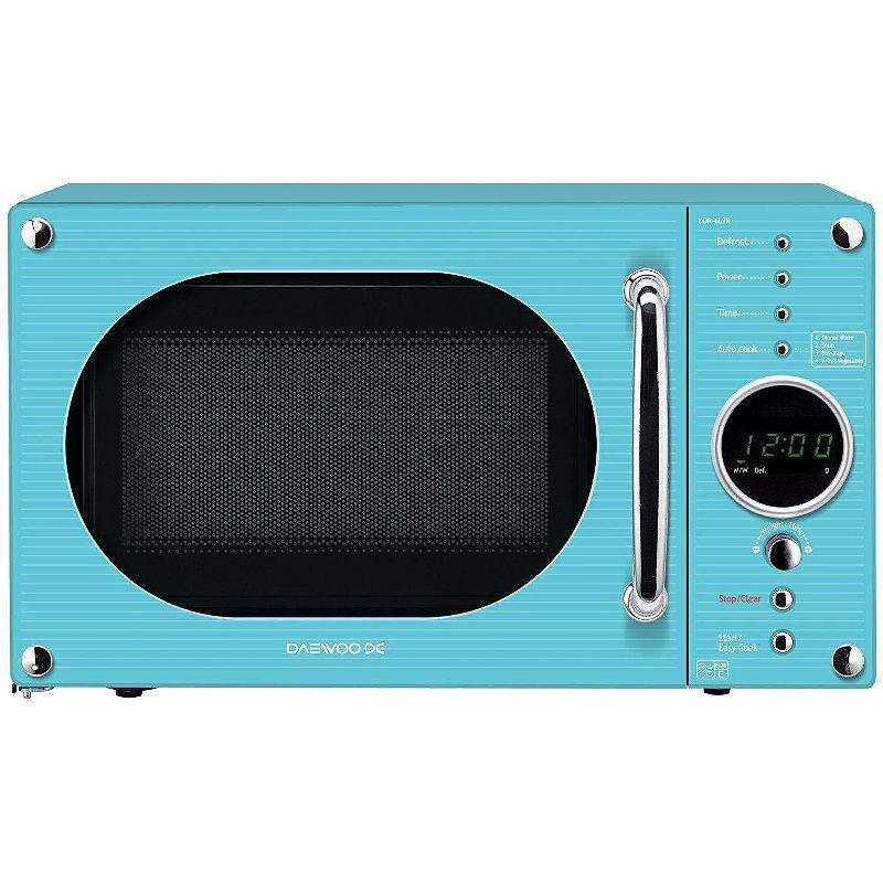 Daewoo Kor6n9rt 20l 800w Microwave Oven Blue Hy Home
