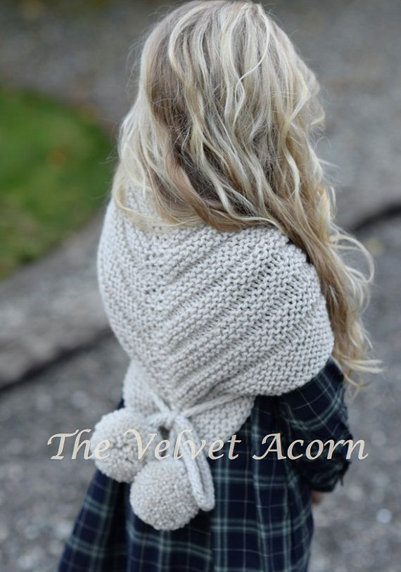 Knitting Pattern - Pinion Shawl (toddler, child, teen, adult sizes ...