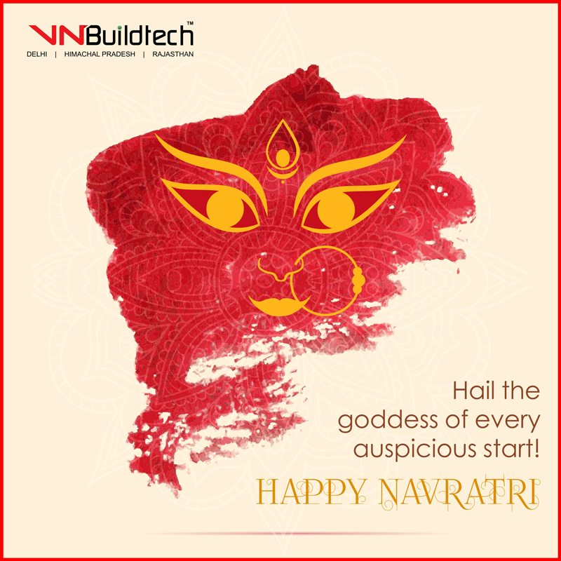 May this #navratri be a beginning of good luck & harbinger of happiness for you. #VNBuildtech #Jaipur