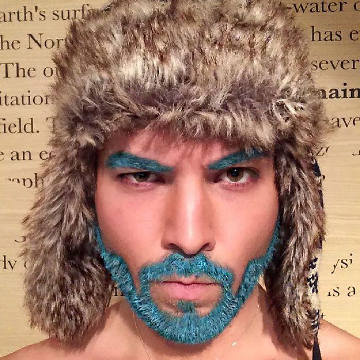 Merman | Merman, Drag makeup and Hair coloring