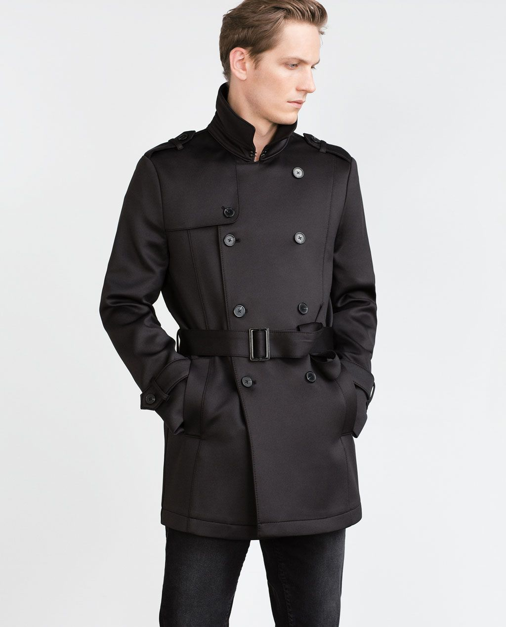 en venta niño como escoger Image 3 of DOUBLE BREASTED TRENCH COAT from Zara | Style ...