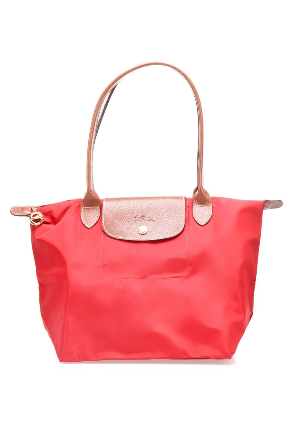 Small Le Pliage Shoulder Bag In Red Founded In 1948 By