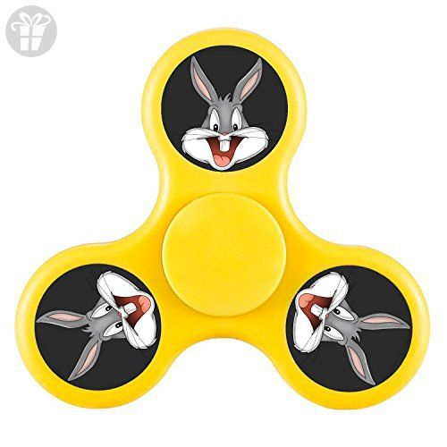 JOIEM Bugs Bunny Cartoon High Speed Bearing Tri Fid Spinner