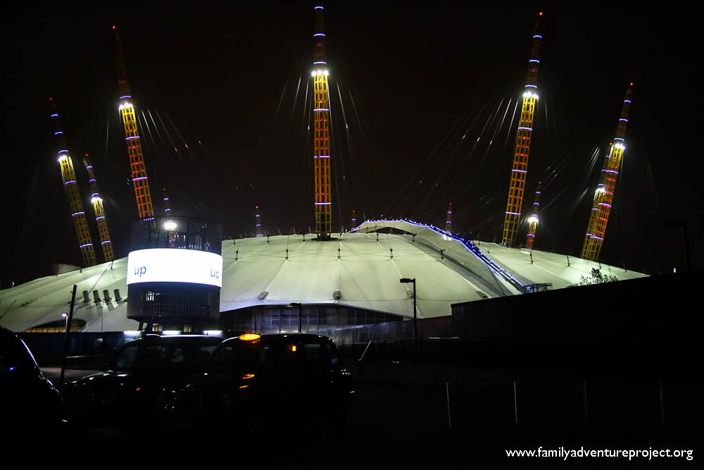 Climbing Up Over London Up At The 02 Arena