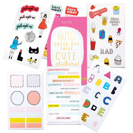 Bando sticker and label book ban53090 perfect planner stickers or for scrapbooking