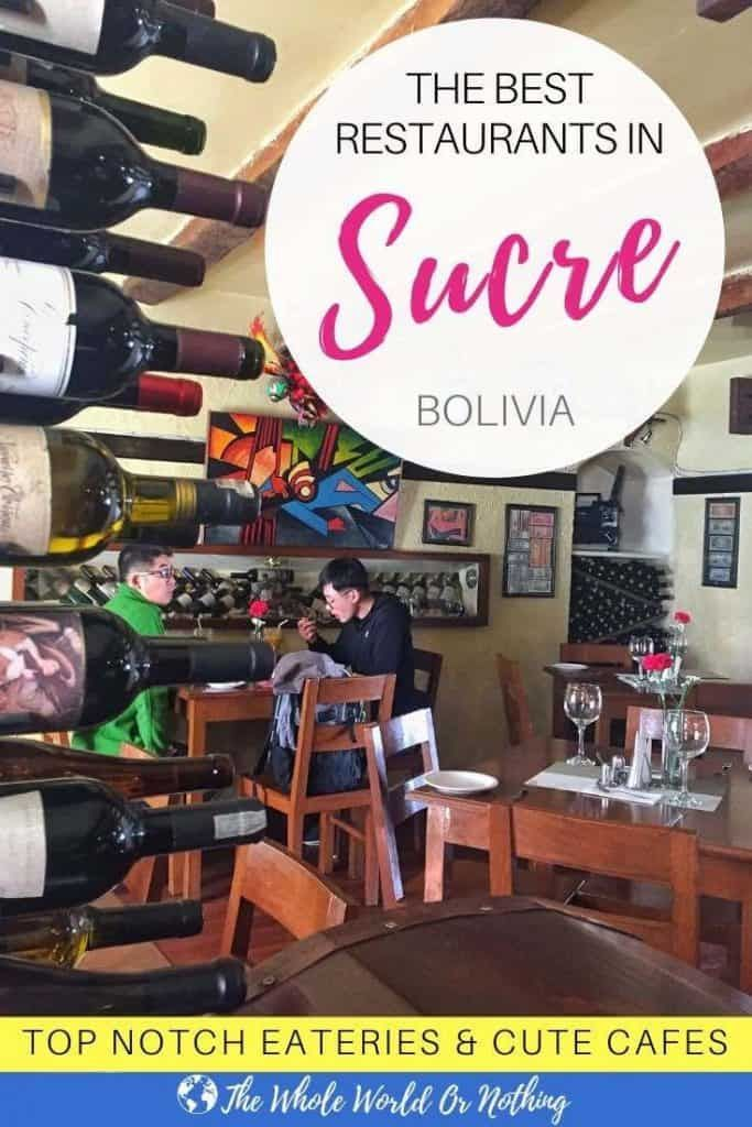 Photo of Best Restaurants in Sucre Bolivia