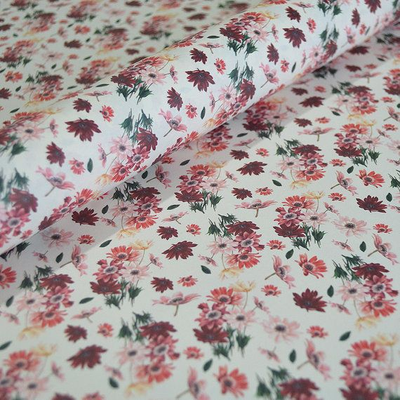 Italian Decorative Paper, Wrapping Paper, Floral Gift Wrap