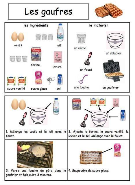 recette des gaufres fle enfants maternelle cuisine pinterest gaufres fle. Black Bedroom Furniture Sets. Home Design Ideas