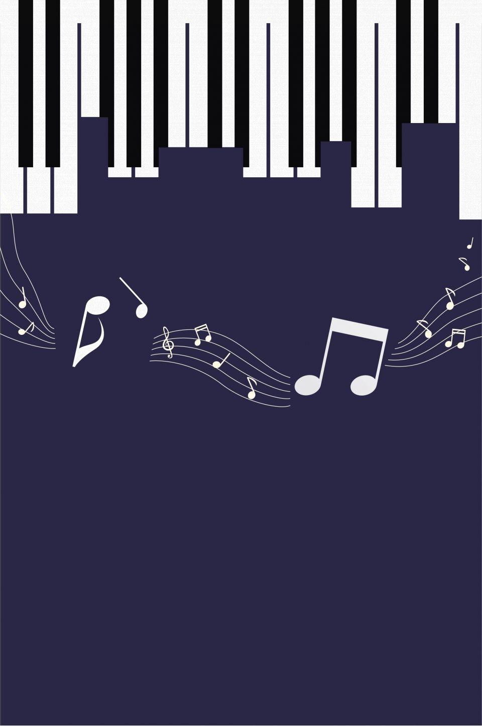 Fondo De Entrenamiento De Piano De Sueño Musical Music Festival Poster Piano Art Music Poster