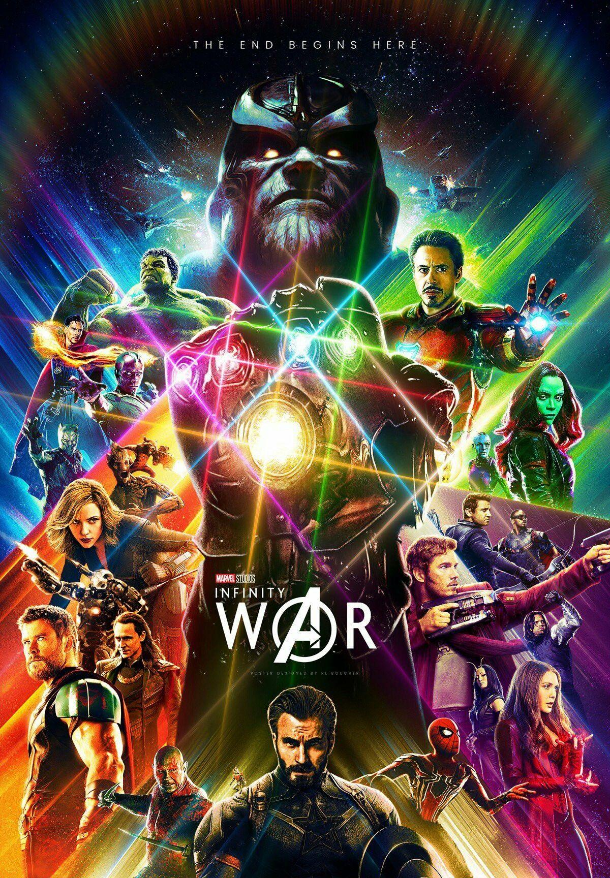 Avengers Infinity War Avengers Pozadí