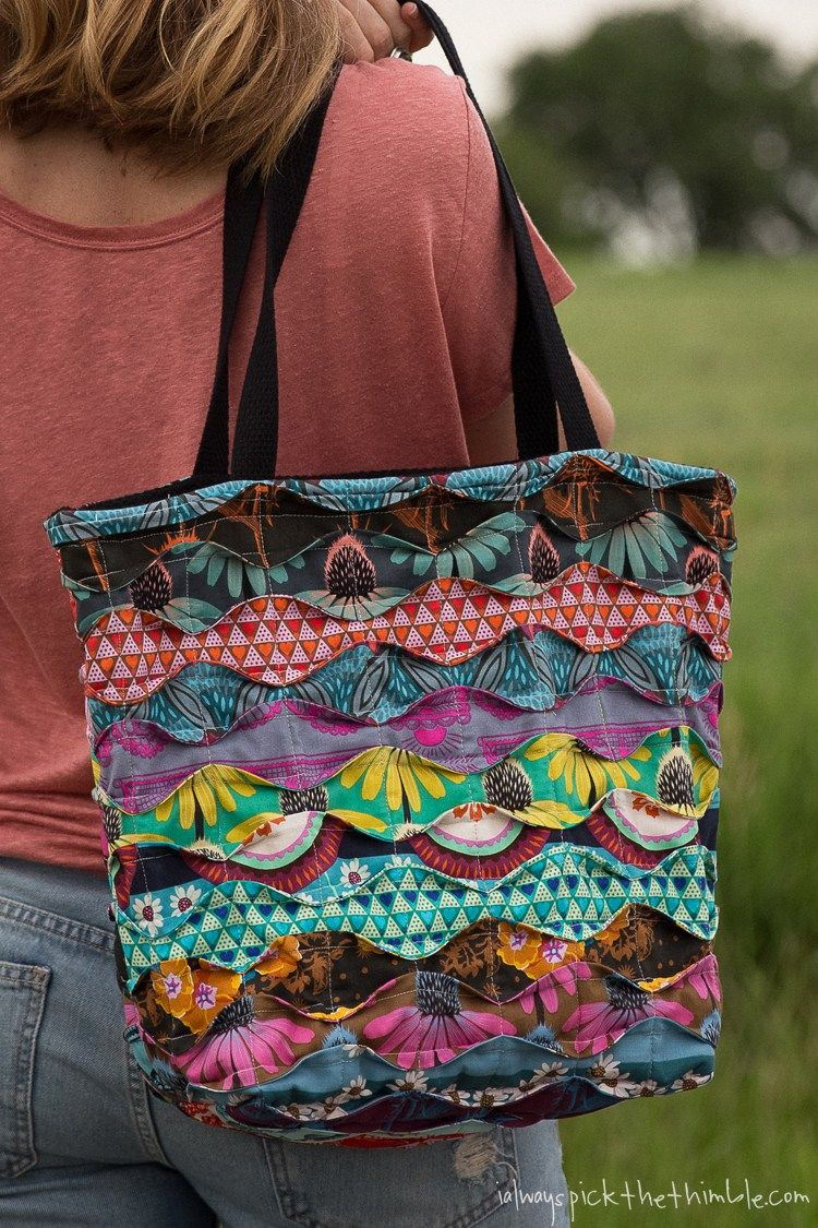 Introducing The Memory Lane Sewing Pattern A Quilted Tote Bag