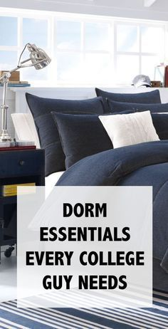 10+ Stylish, Dorm Room Ideas & Decor Essentials is part of Organization Dorm Pillows - Make your dorm room look stylish and organized for less with these cheap & easy DIY projects  You can give your dorm room ideas a creative and personal touch with the dorm room decorating inspiration for guys or woman