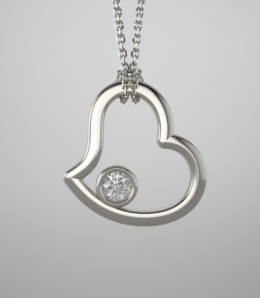 Pin by Camira_fungirl on fashion   Grown diamond, Round diamond pendant,  White gold pendants