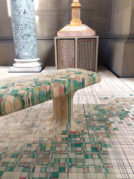 Raw Edges Endgrain installation at Chatsworth House | Pattern, Light ...