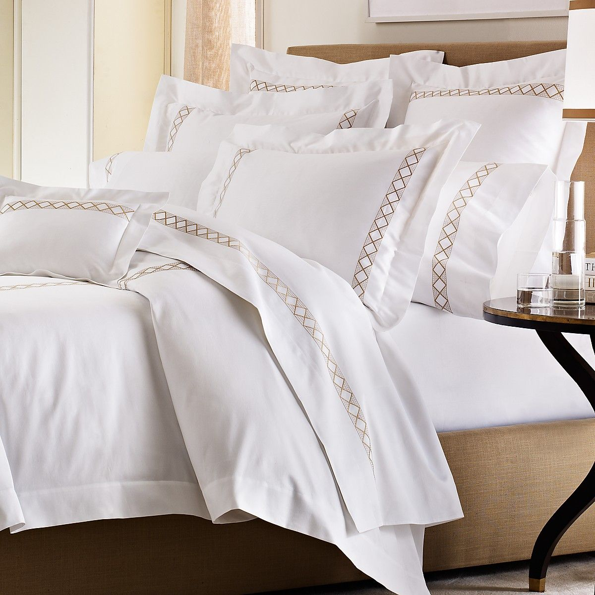 Beautiful Linens: Pratesi Bed Linen; More For The RegistryMy Favorite