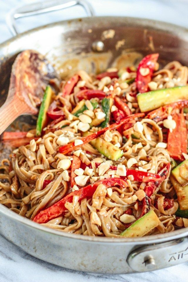 miso vegetable pad thai  recipe  healthy vegetable