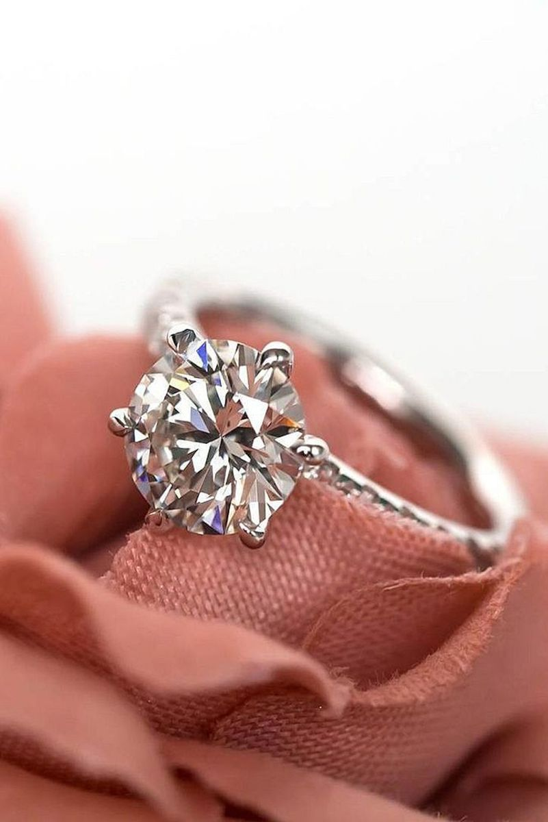 simple and elegant engagement rings 14 elegant