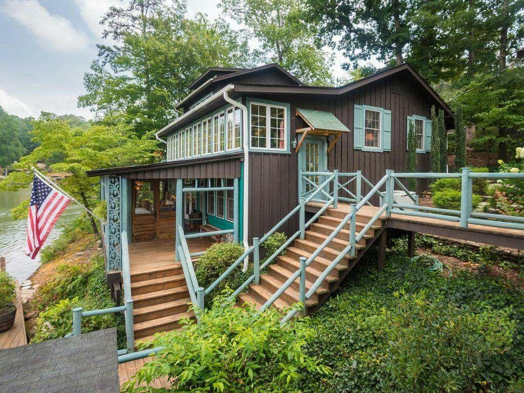 Landrum, SC Cottage living, Tiny houses plans with loft