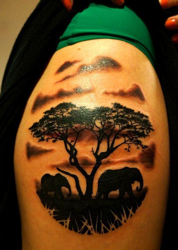 tattoos on pinterest water buffalo african sunset and tattoo shop rh za pinterest com african tree tattoo meaning african acacia tree tattoo