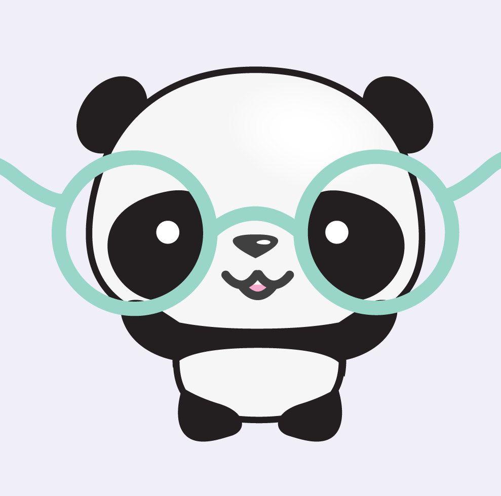 Explora Articulos Unicos De Looklookprettypaper En Etsy Un Mercado Global De Productos Hechos A Mano Vintage Cute Panda Wallpaper Panda Drawing Cartoon Panda
