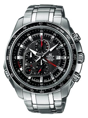 17870223abd4 CASIO-Edifice-EF-545D-1AVEF-Reloj-de-cuarzo-con-correa-de-acero-inoxidable- para-hombre-color-plateado