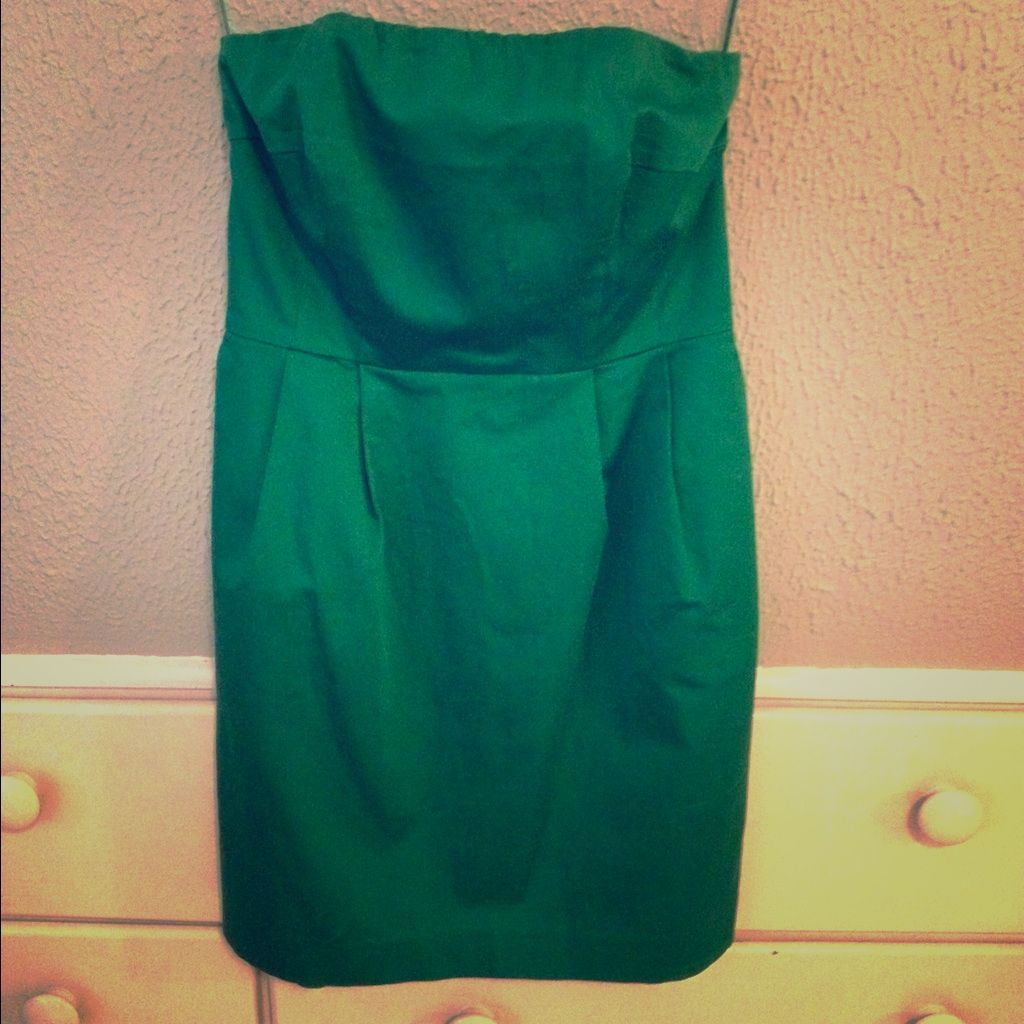 Strapless Green Minidress Products