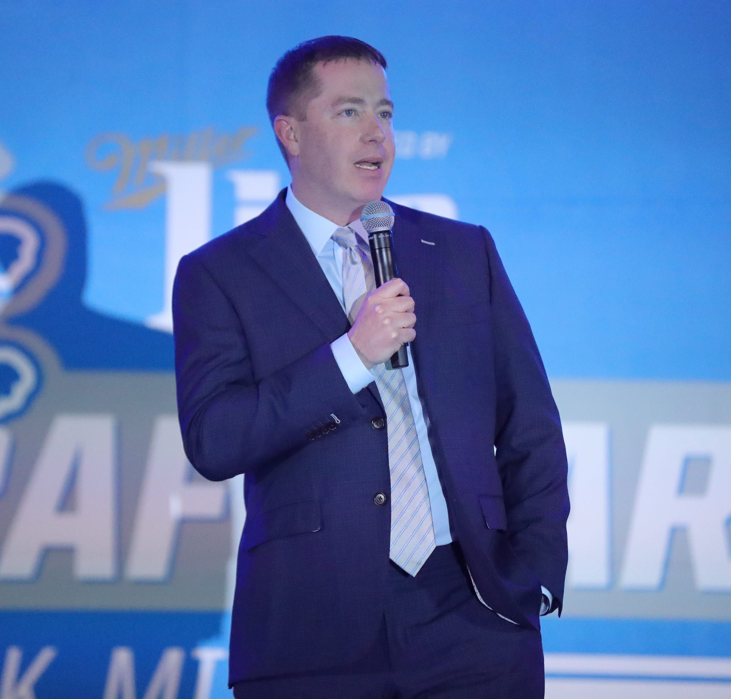 Way Too Early To Say Detroit Lions Are Open For Business With No 3 Pick In Nfl Draft In 2020 Bob Quinn Detroit Lions Nfl Draft