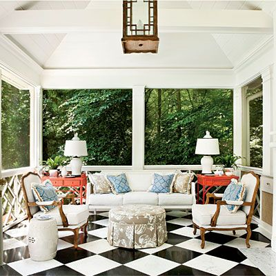 Freestanding Summer House Porch - Porch and Patio Design Inspiration - Southern Living