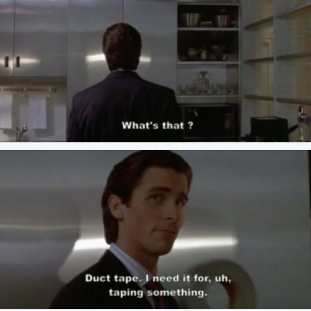American Psycho One Of My Fave Quotes Fave Movies TV Music Simple American Psycho Quotes