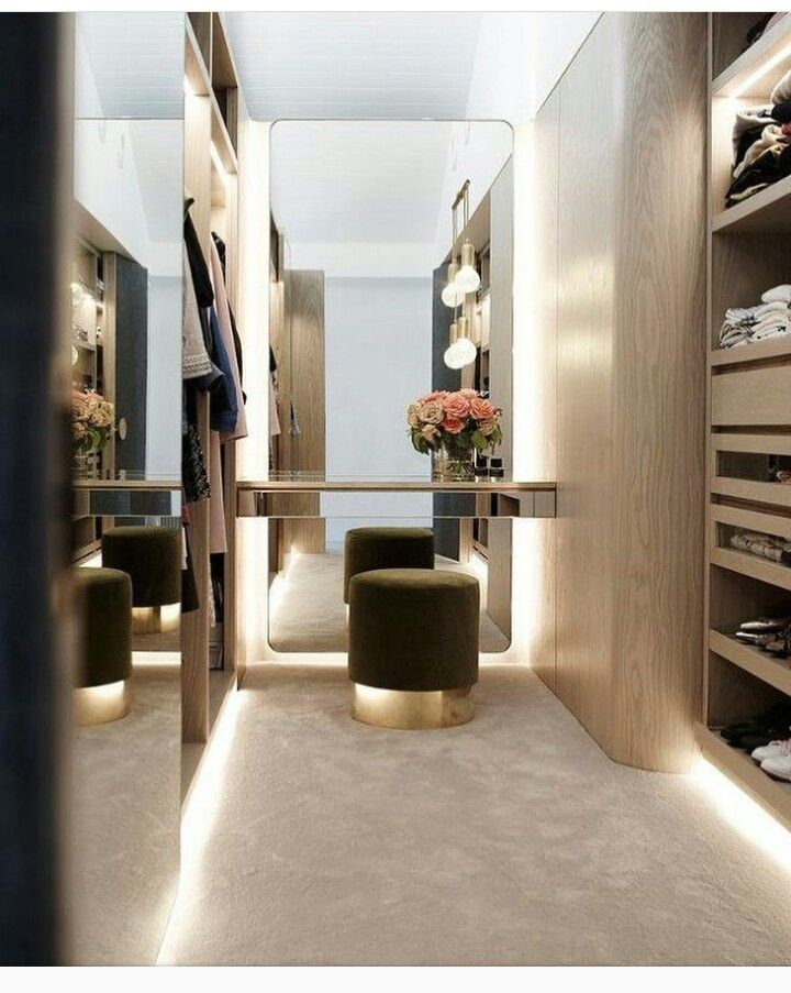 Closet lighting & Closet lighting | Dream closets | Pinterest | Lights Dressing room ...