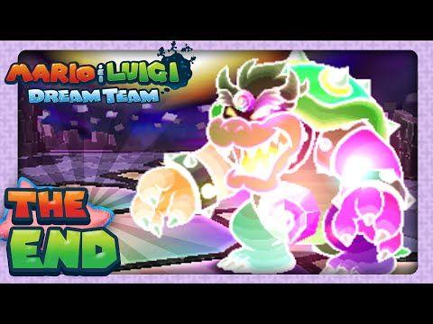 Mario Luigi Dream Team Part 81 Finale Dreamy Bowser