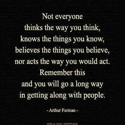 Thats Right I Think The Way I Think Because I Am My Own Person I